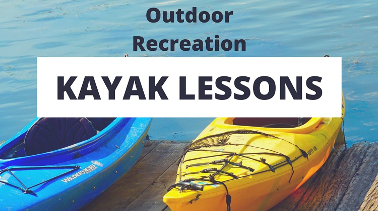 Outdoor Recreation Kayak Lessons