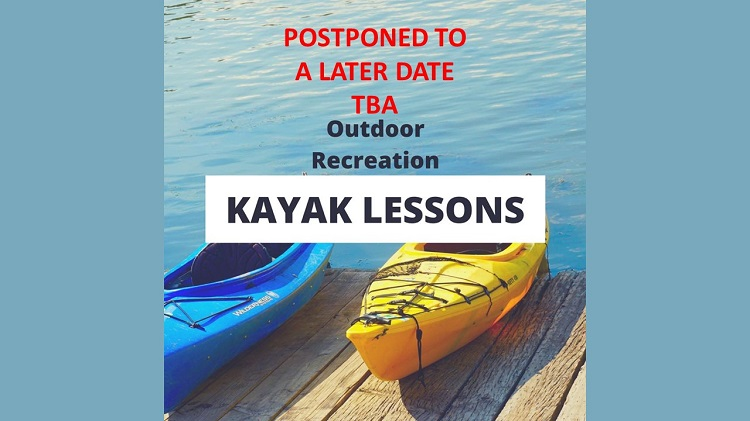 Outdoor Recreation Kayak Lesson
